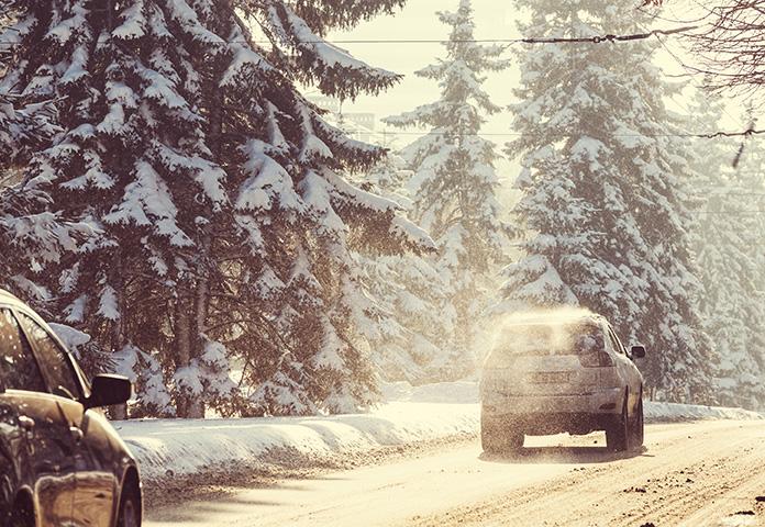 Prowadzenie auta zimą